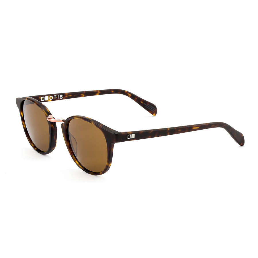 Otis A Day Late Matte Dark Tort Brown Sunglasses