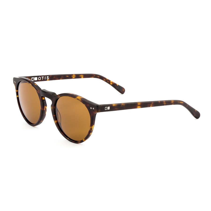 Otis Omar Matte Dark Tort Brown Sunglasses - Image 1