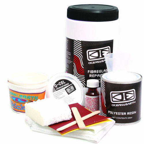 Ocean and Earth Fiberglass Polyester Repair Kit