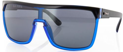 Carve Eyewear La Ropa Black Blue Polarised Sunglasses