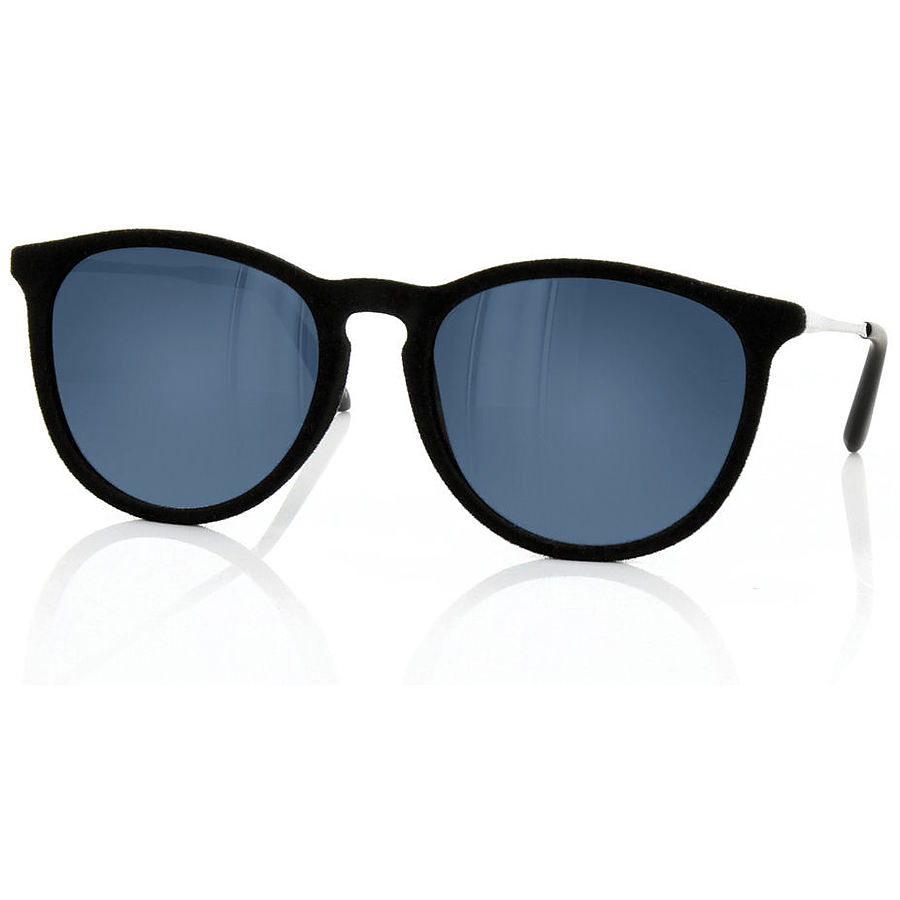 Carve Eyewear Resplendent Black Suede Sunglasses