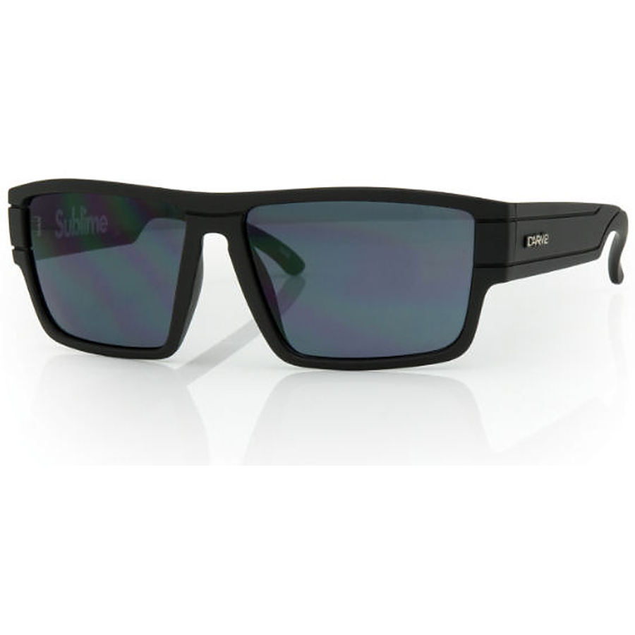 Carve Eyewear Sublime Matt Black Smoke PC Lens Sunglasses - Image 1