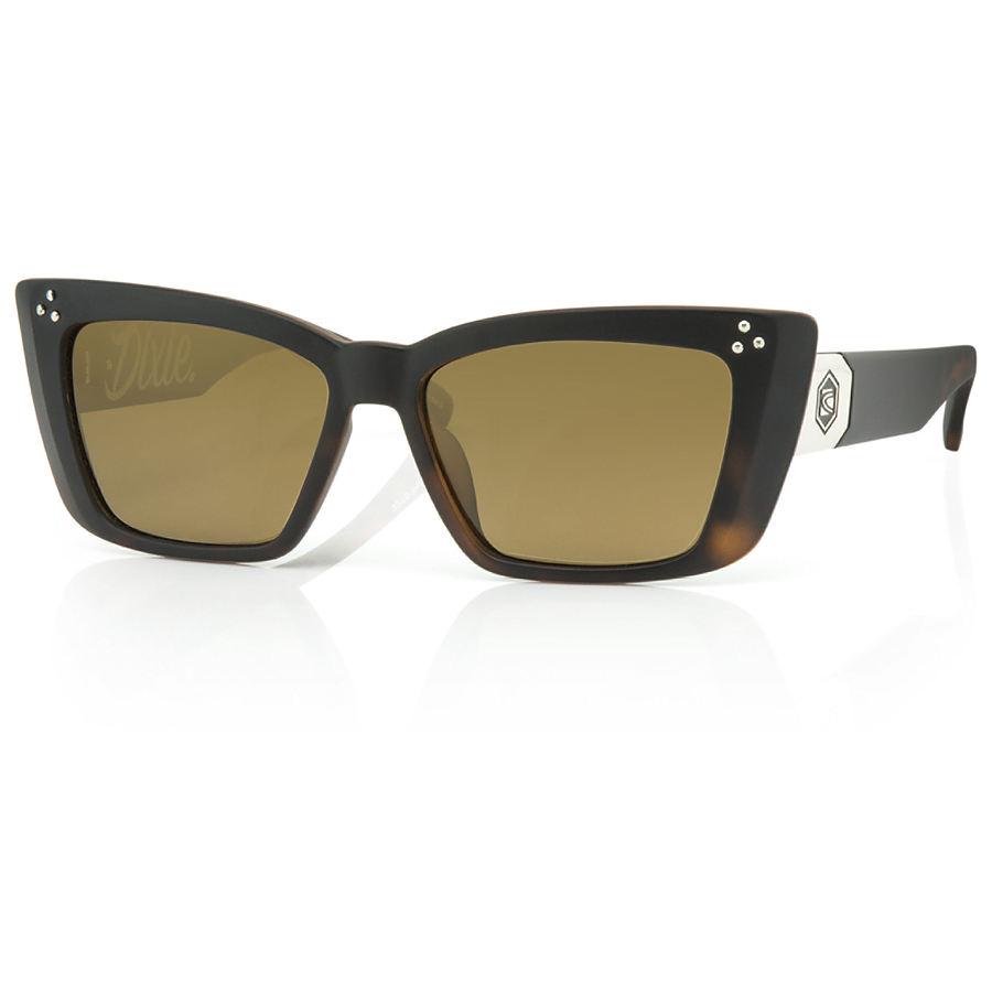 Carve Eyewear Dixie Matte Tort Black Brown Sunglasses