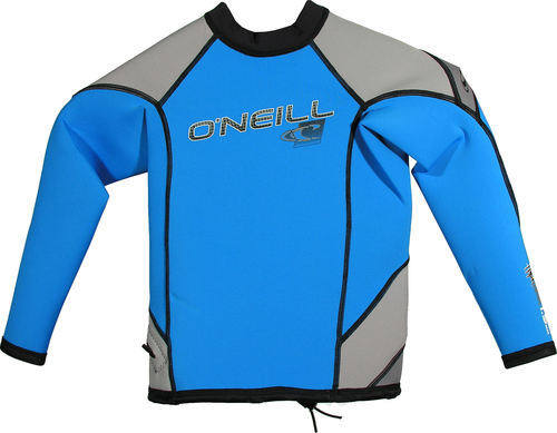 Oneill Youth HyperFreak LS Crew 1.5mm Blue Grey