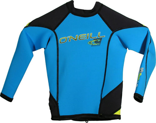 Oneill Youth HyperFreak LS Crew 1.5mm Blue Yellow - Image 1