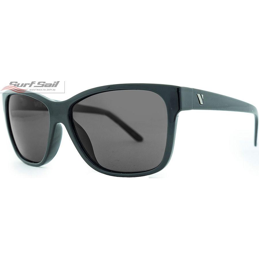 Venture Eyewear Oahu Gloss Black Smoke Polarised Sunglasses - Image 1
