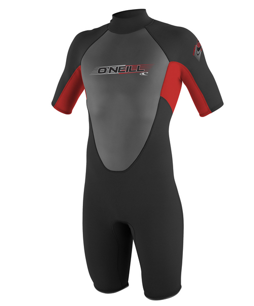 Oneill Youth Reactor 2 mm S S Spring Suit (10-16) Red