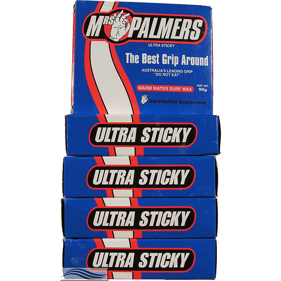 Mrs Palmers Warm Surf Wax 5 Pack