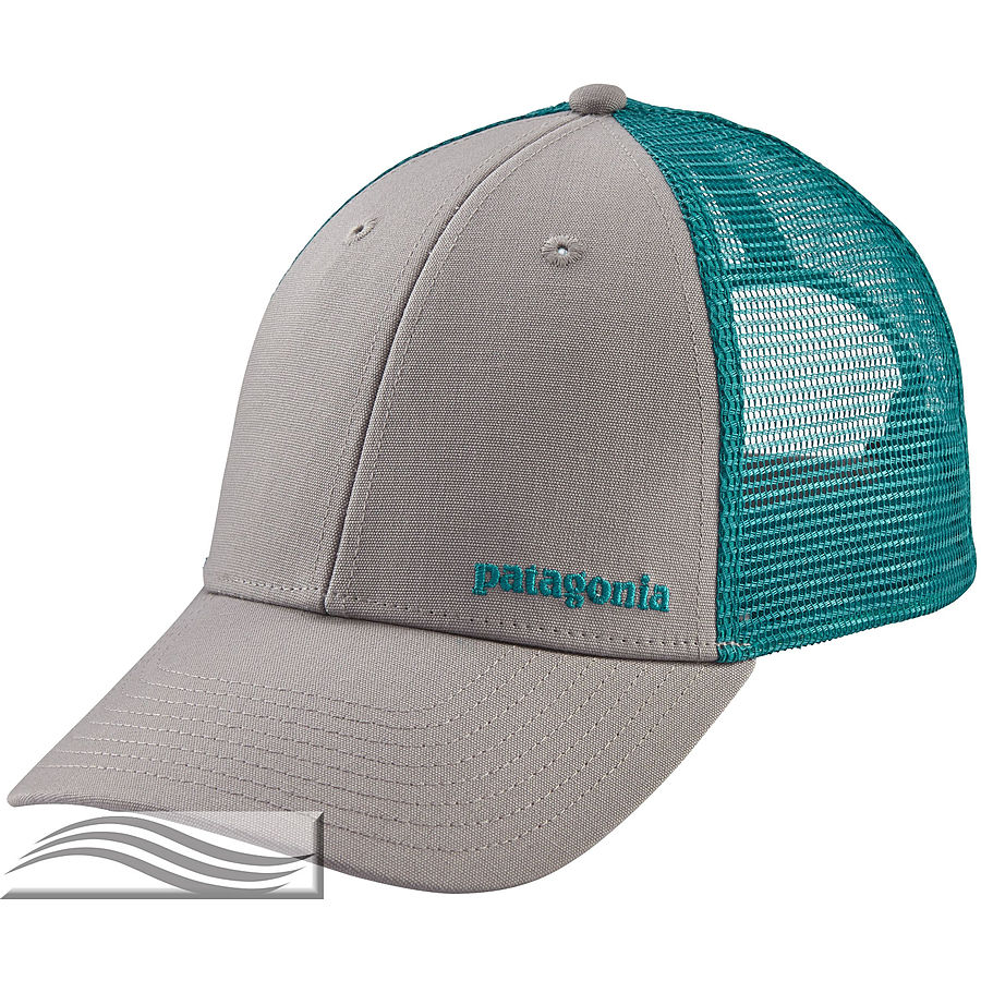 Patagonia Small Text Logo LoPro Men's Trucker Cap Grey - Image 1