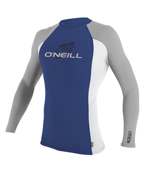 Oneill Kids Skins L S Kids Crew Blue Grey