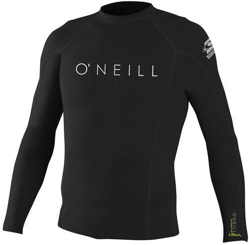 Oneill Hyperfreak Mens .5mm L S Crew Black