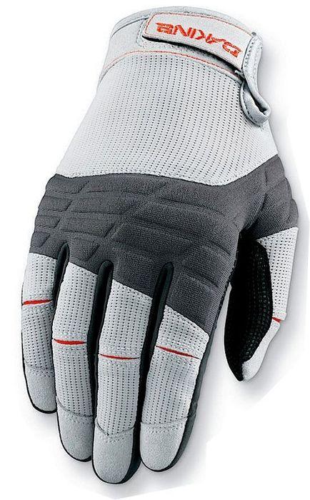 Da Kine Full Finger Sailing Gloves Grey