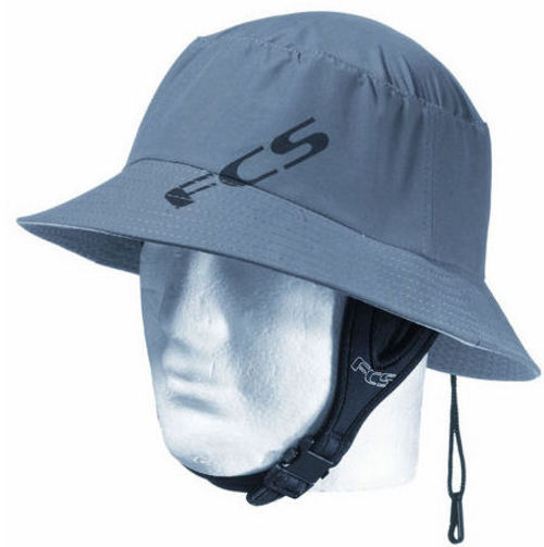 FCS Wet Bucket Surf Hat Gun Metal