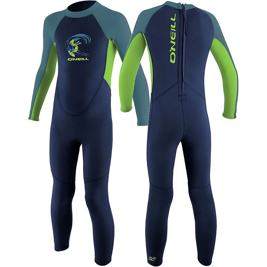 Oneill Toddler 2 mm Reactor Steamer Navy Day Glo