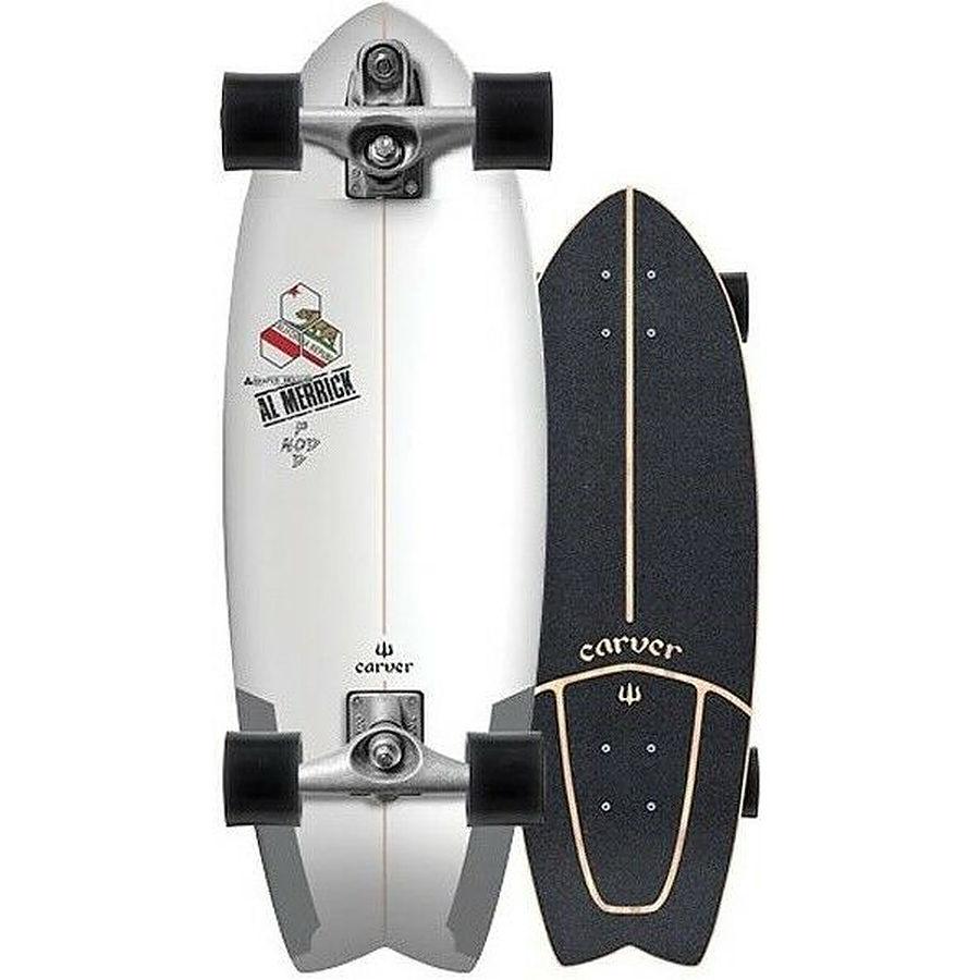 Carver CI Pod Mod Silver C7 Complete Skateboard