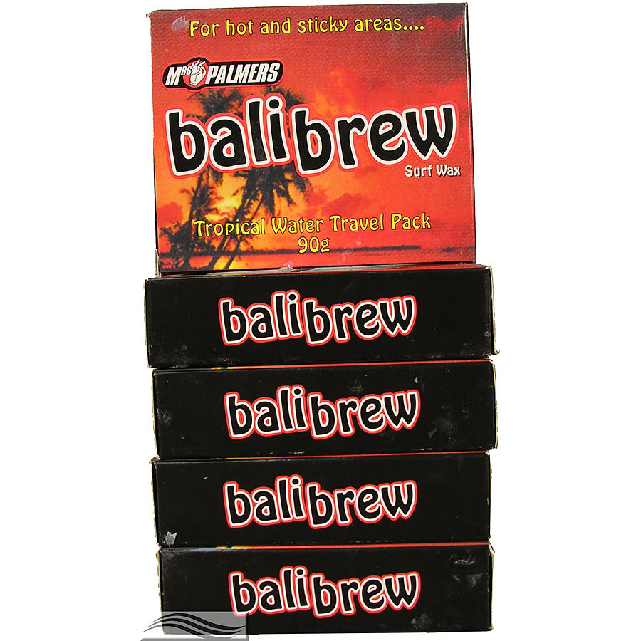 Mrs Palmers Bali Brew Surf Wax 5 Pack