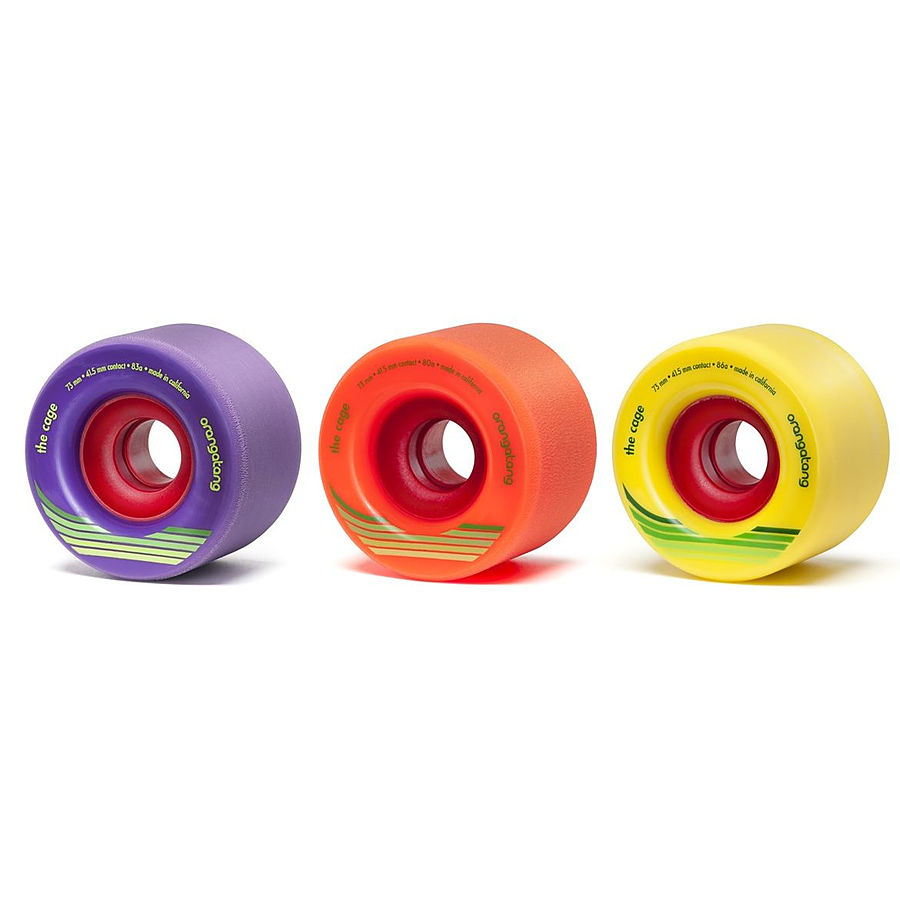 Orangatang Wheels Cage 73mm Longboard Skate Wheels