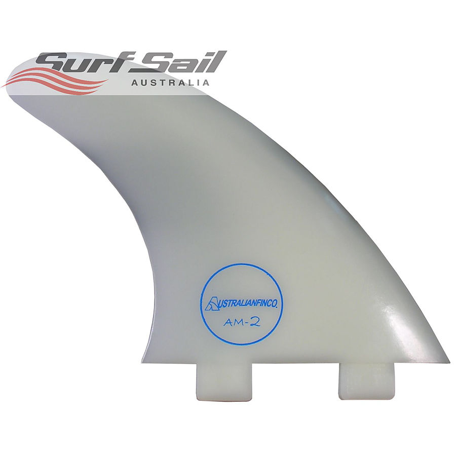 Surf Sail Australia Clear AM2 Thruster Fin Set (Large)