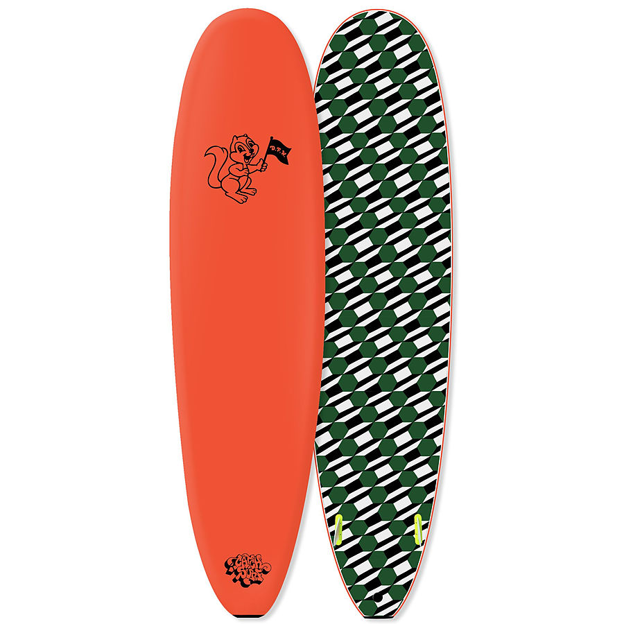 Catch Surf Odysea Barry Mcgee Softboard Neon Orange 7 ft