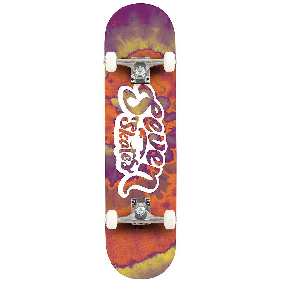 Seven Skates Complete Sunset Tie Dye Skateboard