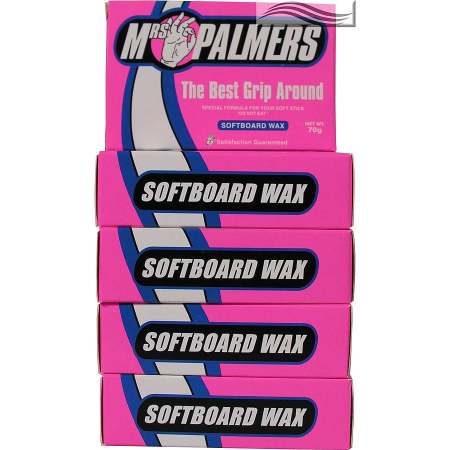 Mrs Palmers Softboard Surf Wax 5 pack
