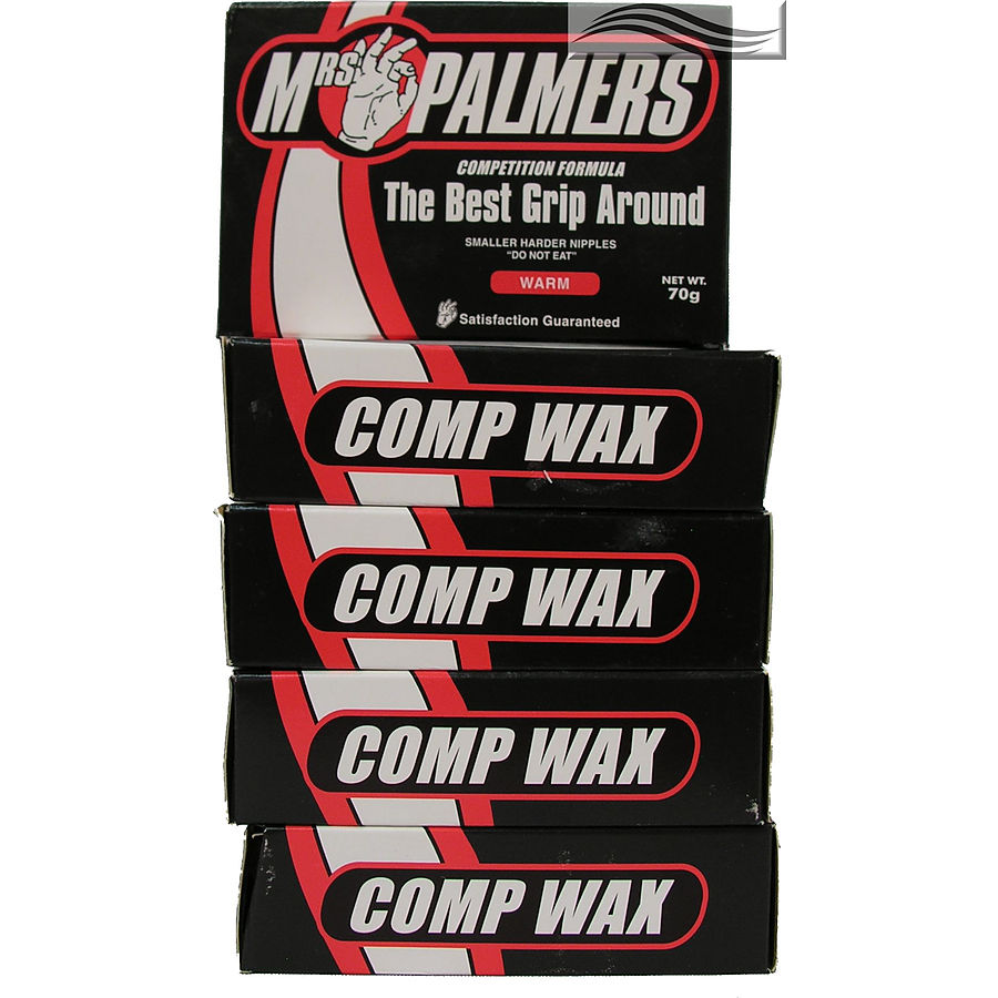 Mrs Palmers Comp Warm Surf Wax 5 Pack