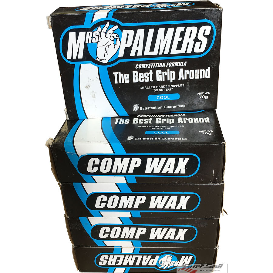 Mrs Palmers Comp Cool Surf Wax 5 Pack