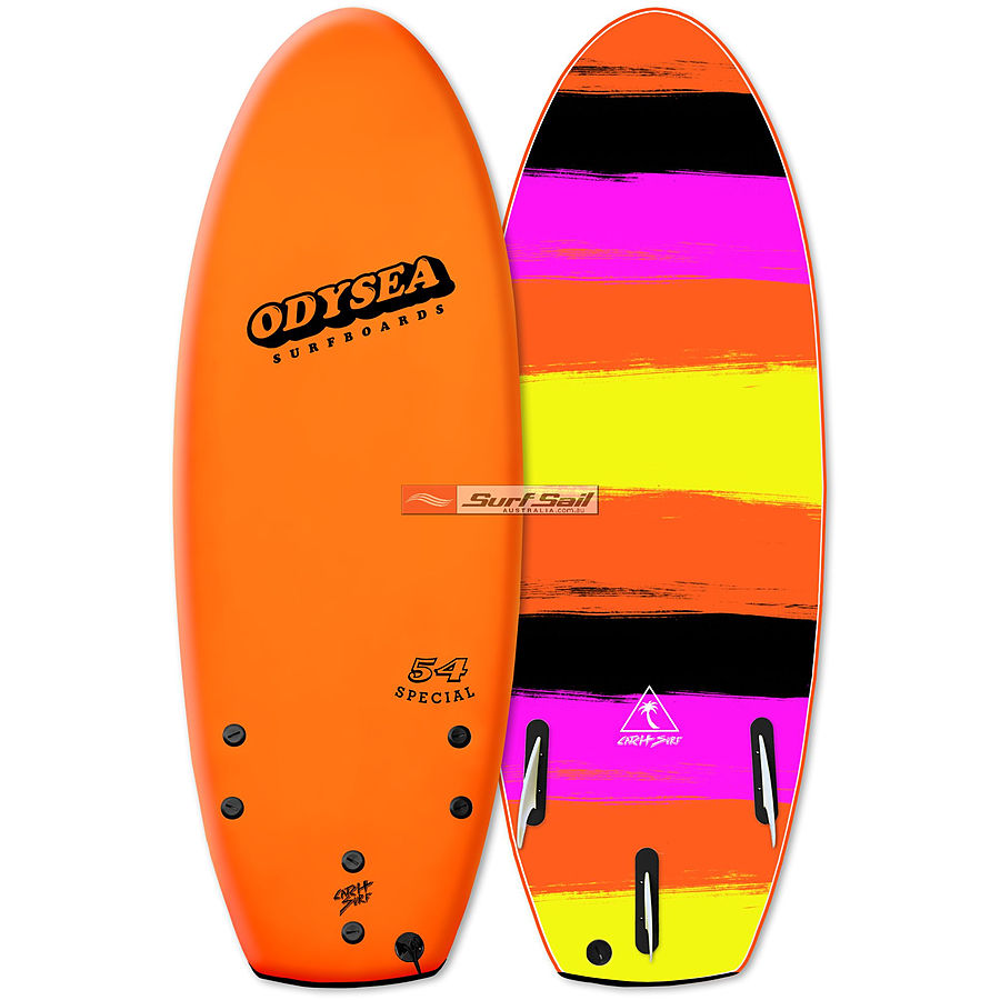 Catch Surf Odysea Special 2018 4 ft 6 inches Tri Fin Softboard Orange