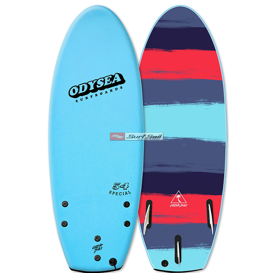 Catch Surf Odysea Special 2018 4 ft 6 inches Tri Fin Softboard Cool Blue