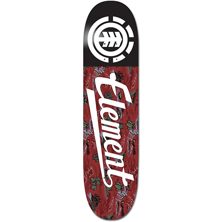 Element River Rats Script Skateboard Deck