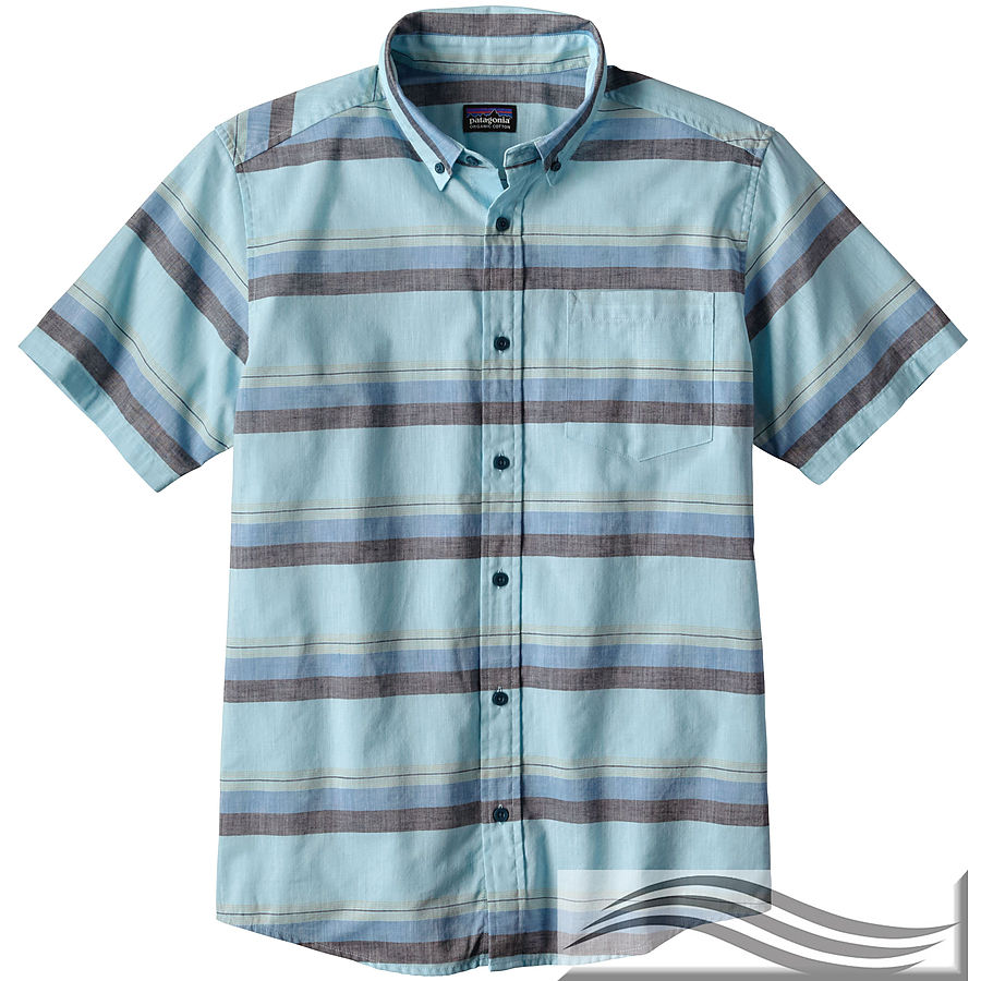 Patagonia Men's Light Weight Bluffside Short Sleeve Shirt - Image 1