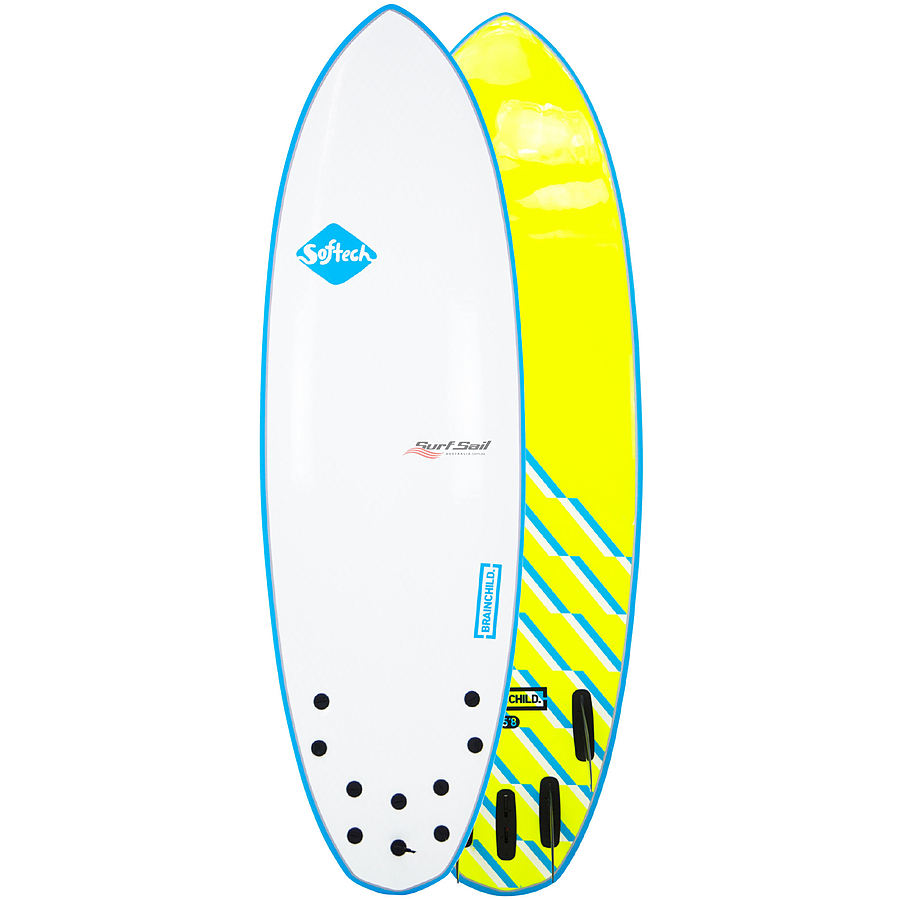 Softech Brainchild Blue Wave Softboard 5 ft 8 inches