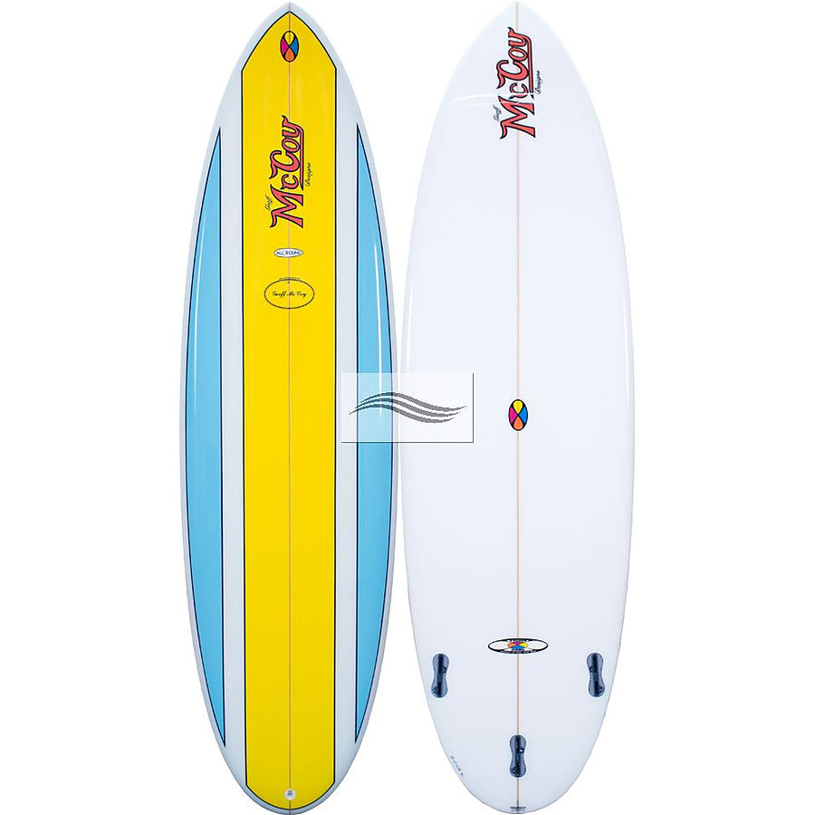 Mccoy Nugget FCS2 PU Blue Yellow 6 ft 8 inches