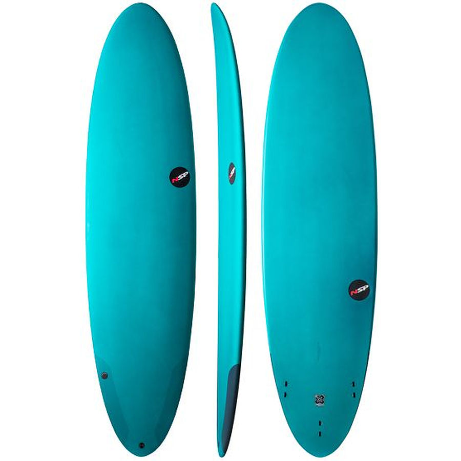 NSP Funboard Protech Funboard Aqua 6 ft 8 inches