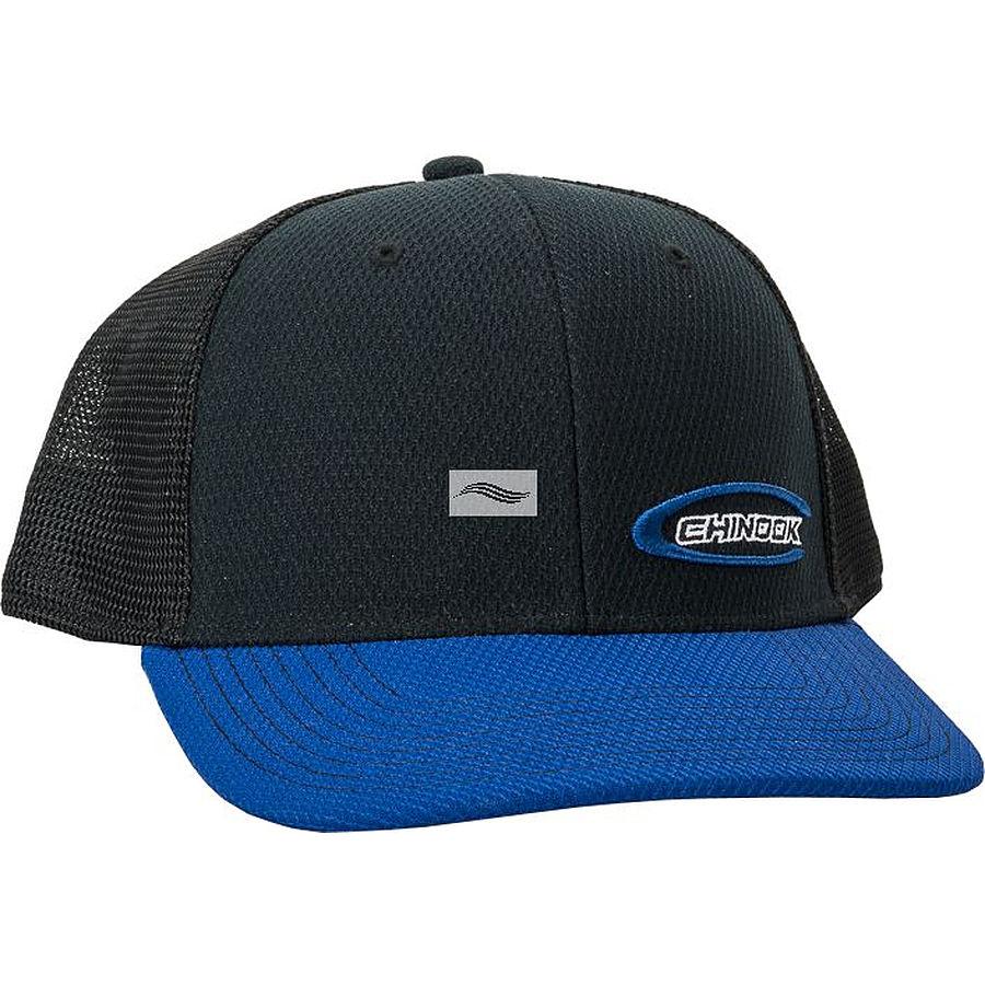 Chinook Trucker Cap Black Blue
