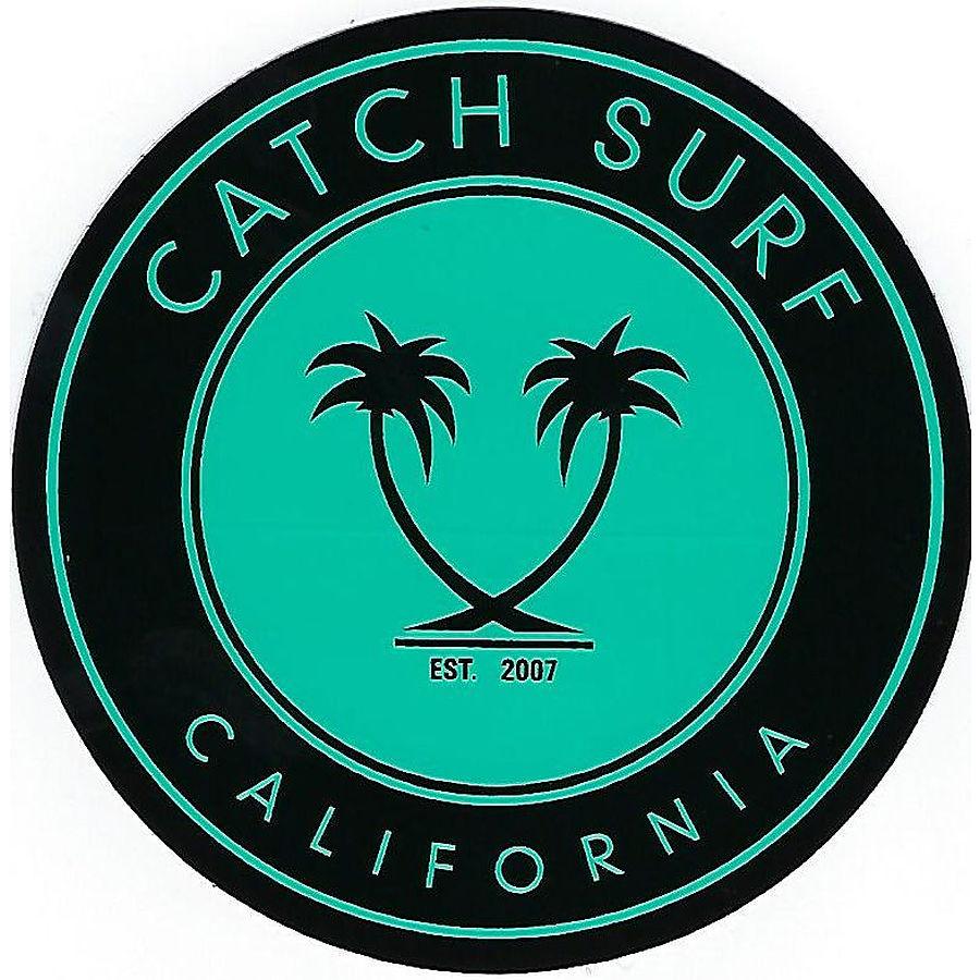 Catch Surf Circle California Palm Sticker