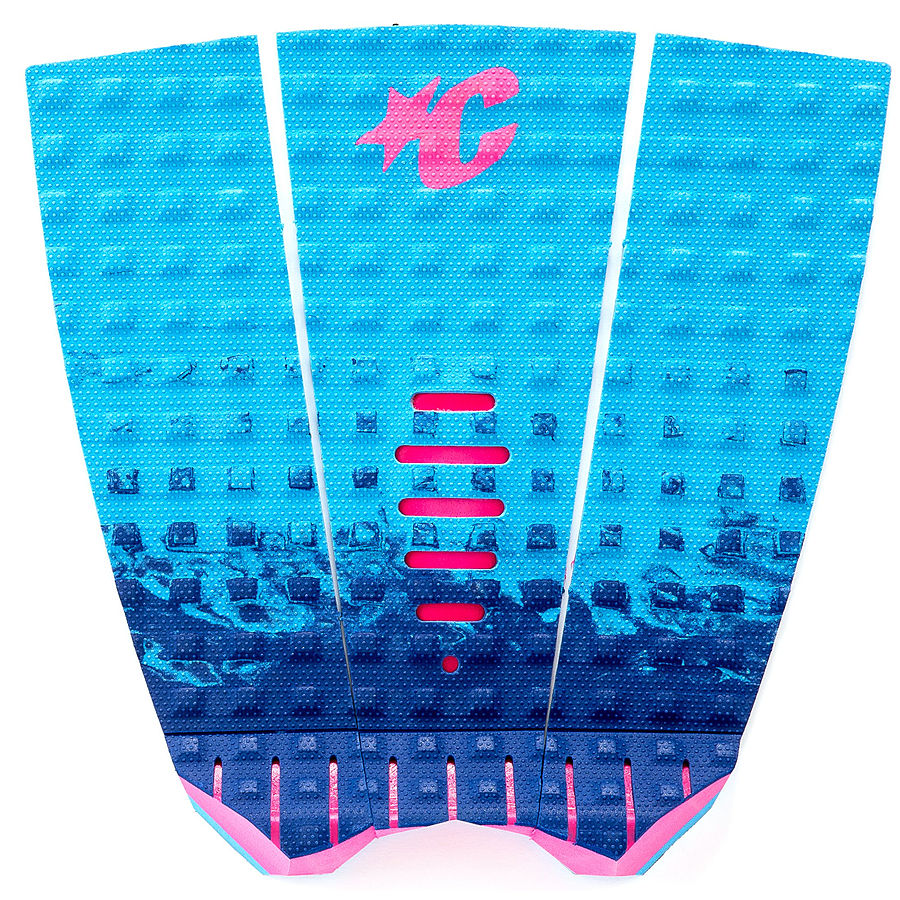 Creatures of Leisure Mick Fanning Lite Traction Cyan Fade Pink
