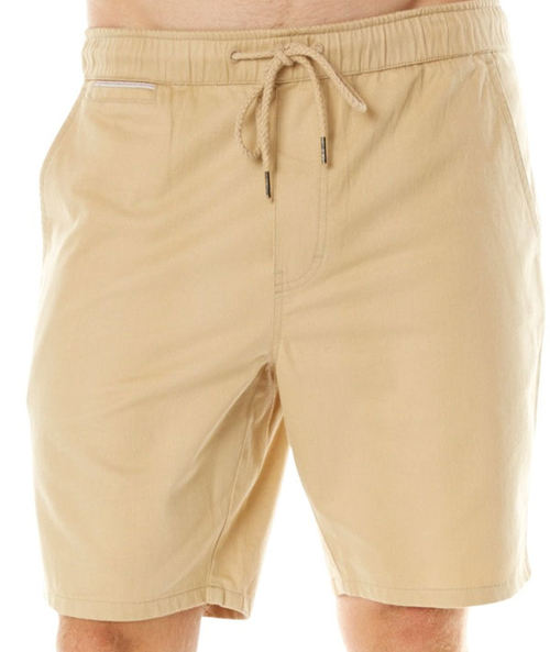 Oneill Elastic First In Mens Chino Beige Walkshorts