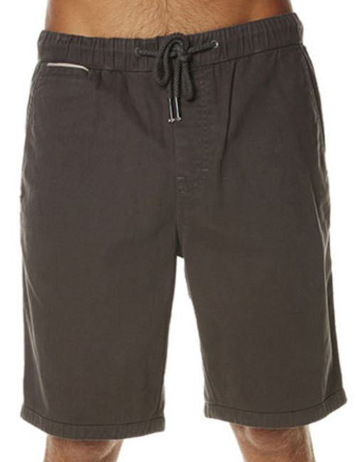 Oneill Elastic First In Mens Black Walkshorts - Image 1
