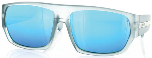 Carve Eyewear Death and Taxes Frost Grey Revo Glass 1.8mm Sunglasses