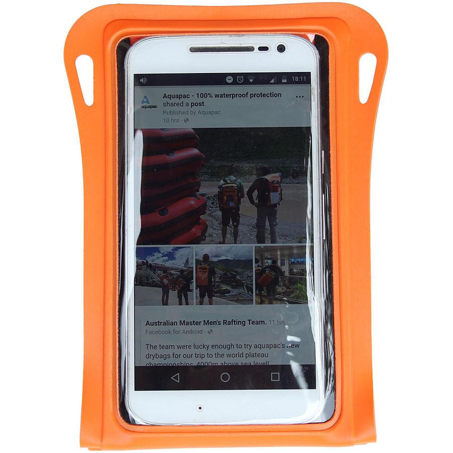 Aquapac Trailproof Phone Case Orange 081