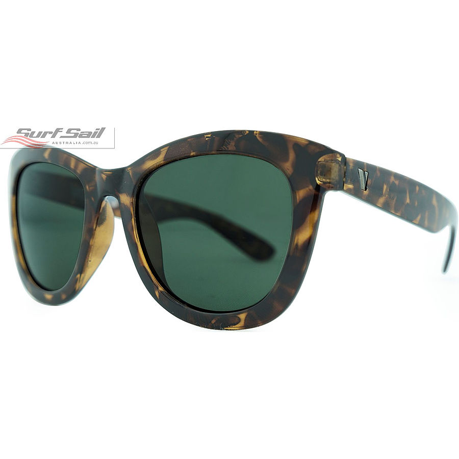 Venture Eyewear Molokai Demi Tort Polarised Sunglasses - Image 1