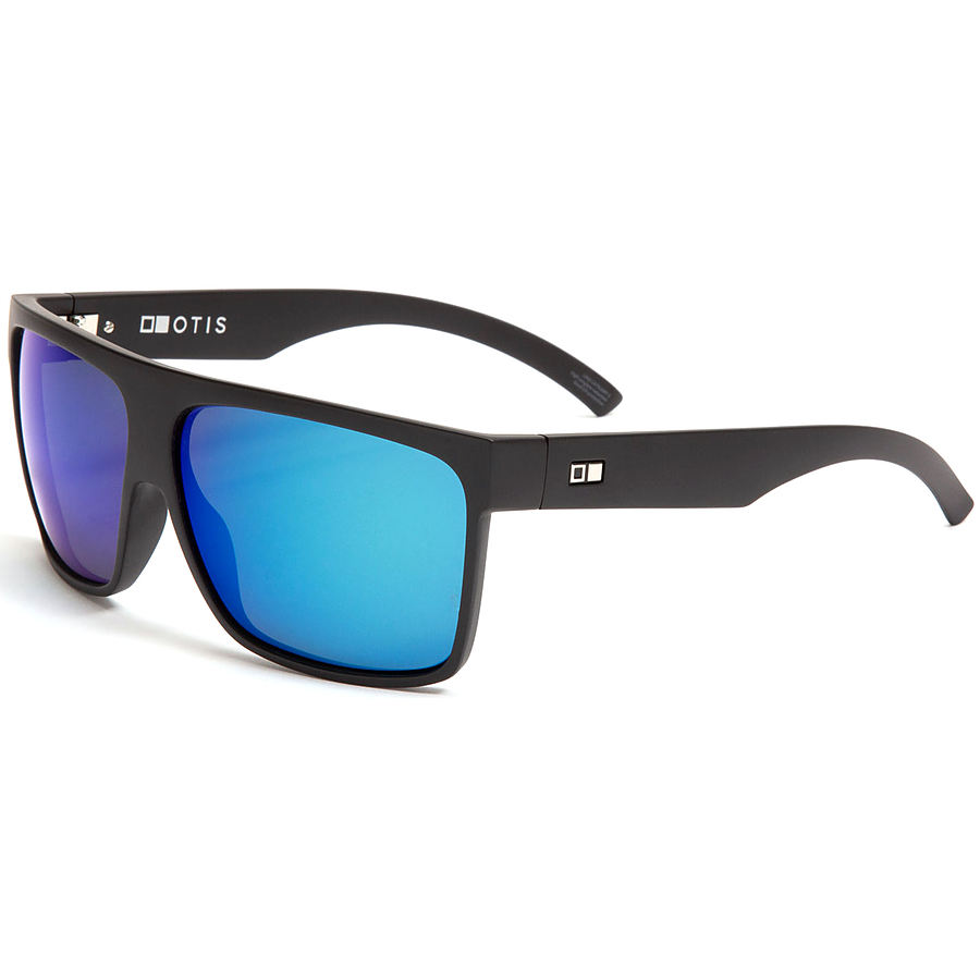 Otis Young Blood Reflect Matte Black Blue Sunglasses