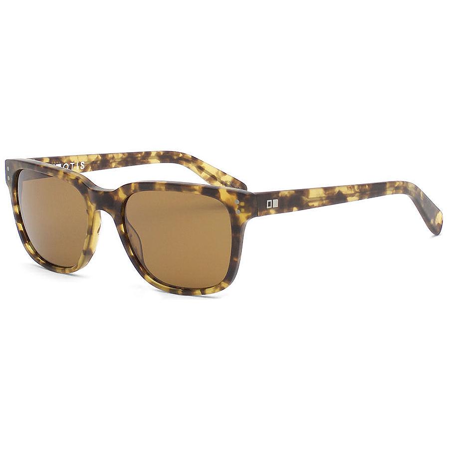 Otis Test of Time Matte Amber Tort Sunglasses