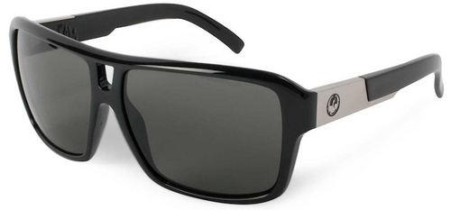 Dragon Jam Jet Grey Sunglasses