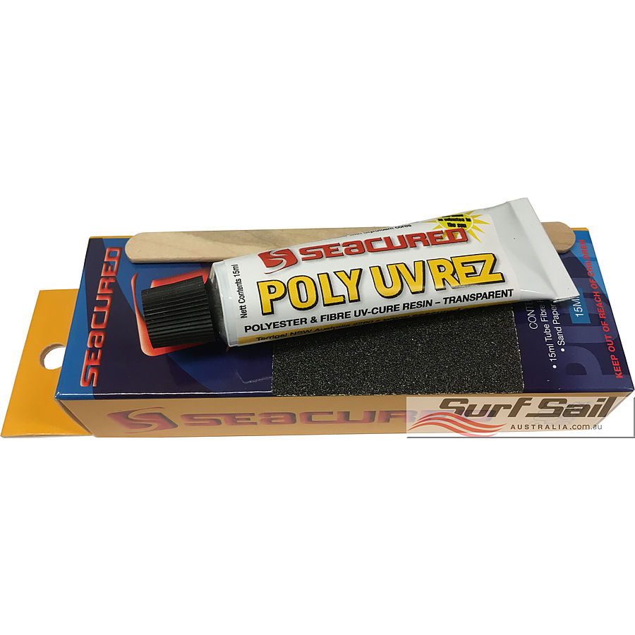Seacured UV Rez Polyester Repair Kit Small