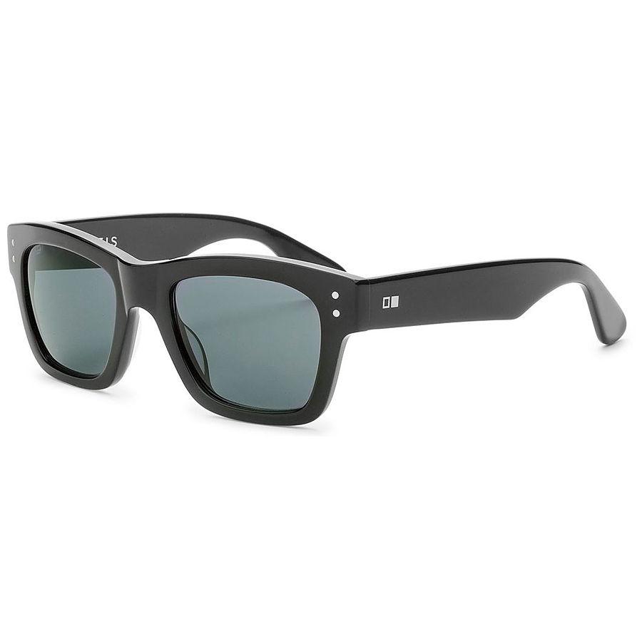 Otis Missing Pieces Shiny Black Sunglasses