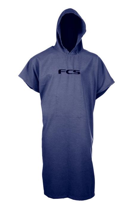 FCS Poncho Navy Chamois Beach Towel