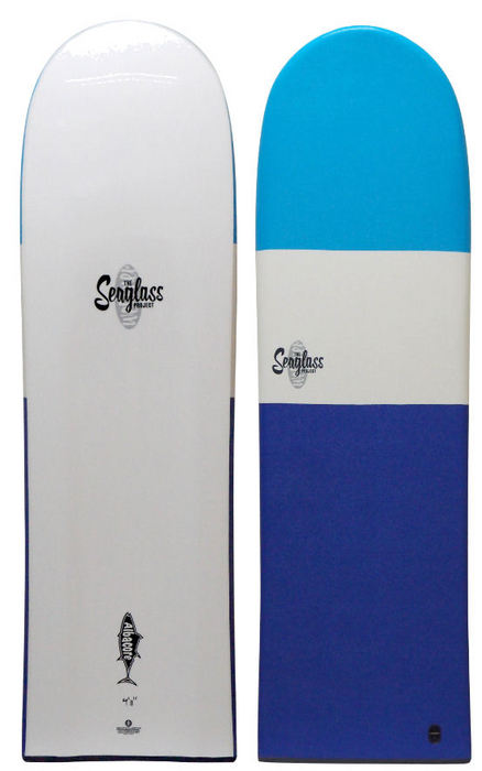 Seaglass Albacore Finless Softboard 4 ft 11 inches