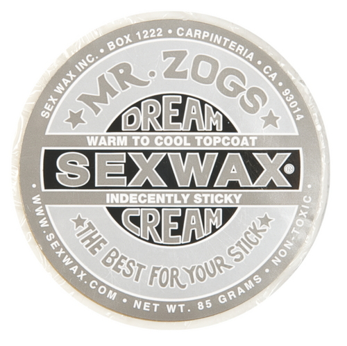 Mr Zogs Sex Wax Dreamcream Topcoat Silver - Image 1